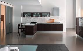 kitchen simple kitchen cabinet and maroon fabric chair dining