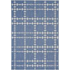 Large Indoor Outdoor Rugs 8 X 11 Large Blue Indoor Outdoor Rug Finesse Tower Court