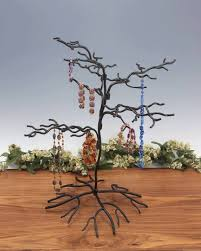 ornament tree wrought iron squiggly small set of 2 ornament