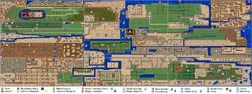 legend of zelda map with cheats legend of zelda map artwork zd i forums dungeon at world scrapsofme me