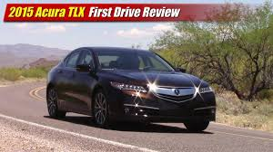 first acura first drive review 2015 acura tlx testdriven tv