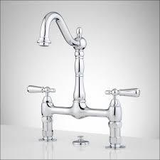 kitchen faucet pedal bathroom moen 4 kitchen faucet 12 inch bridge faucet