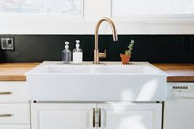 white kitchen sink faucets our diy kitchen remodel honest artistic the brauns