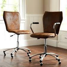 brown leather armless desk chair leather armless office chair brown leather armless desk chair