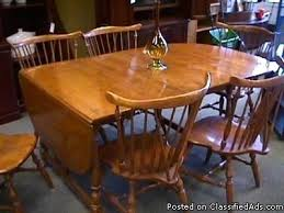 ethan allen table chairs adorable allen maple dining room table chairs maple drop leaf table