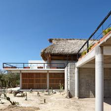 vietnam community centre has thatched roofing and courtyards