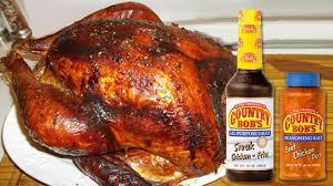maple smoked glazed turkey countrybobs