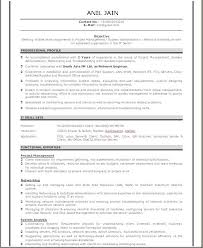 Best Resume Format For Freshers by Resume Format For Network Engineer Fresher Resume Format
