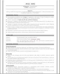 Sap Resume Samples For Freshers by Resume Format For Network Engineer Fresher Resume Format
