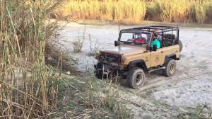 jonga jeep off road with mahindra thar crde and jonga youtube