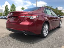 new 2018 toyota camry xle 4dr car in tallahassee u501481 legacy