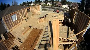 new house framing time lapse youtube