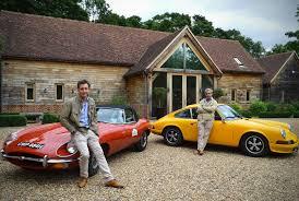 vintage orange porsche driving vintage car across the country is as fantastic as it