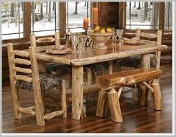 Log Dining Room Table 237 Best Kitchen Tables And Chairs With Wheels And More Images On