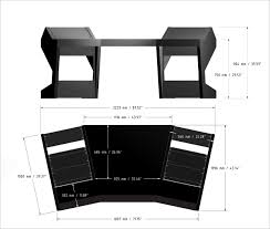 Recording Studio Desk Design by Duodesk 60 Unterlass Studio Furniture