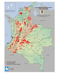 Chicago Bad Areas Map by 50 Years Of War Colombia And The Farc