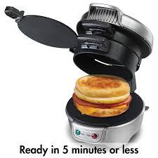 appareil cuisine antiadhésive petit déjeuner hamburger sandwich maker machine