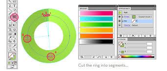 tutorial illustrator gradient gradient ring chart in illustrator veerle s blog 3 0