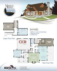 Mission Style House Plans Mission Ridge Floor Plans Brycyn Homes