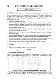 reflection and refraction lesson plans u0026 worksheets