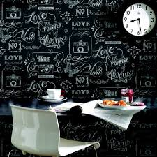 kitchen wallpaper ideas uk fresco chalkboard messages wallpaper 20 offer now available