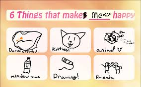 How To Make Meme Photos - 6 things that make me happy meme by moonbunniz on deviantart