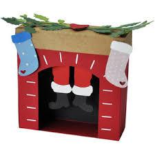 Fireplace Ornament Silhouette Design Store View Design 207164 Santa S
