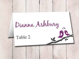 Place Cards Wedding The 25 Best Print Your Own Wedding Place Cards Ideas On Pinterest