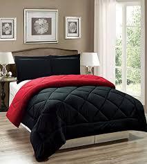 Down Alternative King Comforter Legacy Decor 3pc Down Alternative Reversible Comforter Set Red