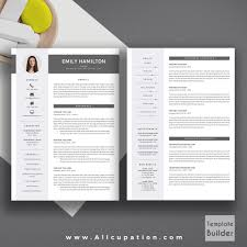 Creative Resumes Templates Free Creative Resume Template Modern Cv Word Cover Letter Templates