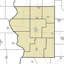 Indiana Usa Map by File Map Of Sullivan County Indiana Townships Svg Wikimedia Commons