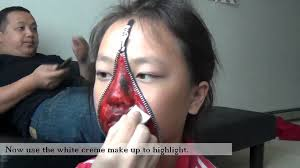 halloween city application zipper face halloween youtube