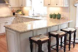 Gray Blue Kitchen Cabinets White Color Marble Countertops White Kitchen Island Glass