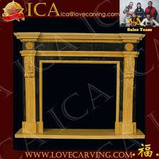 Cantera Stone Fireplaces by Yellow And Green Marble Fancy Design Cantera Stone Fireplace Buy