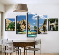 Home Decor Waterfalls by Online Get Cheap Waterfall Oil Painting Aliexpress Com Alibaba