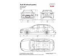 dimension audi a6 2009 audi a6 allroad quattro dimensions 1280x960 wallpaper