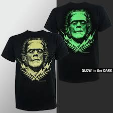 Frankenstein Shower Curtain by Boris Karloff Frankenstein T Shirt Bolts Glow In The Dark