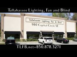 tallahassee fan and lighting tallahassee light fan and blind youtube