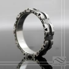 stargate wedding ring stargate ring sterling silver a geeky wedding band