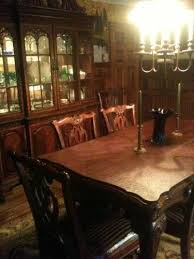 Queen Anne Dining Room Furniture by Mahogany Dining Room Set Ebay