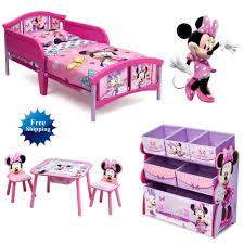Disney Toy Organizer Disney Minnie Mouse Room In A Box Bed Toy Organizer Table And