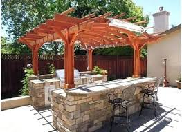 Backyard Bar Ideas Backyard Tiki Backyard Bar Ideas That Will Spice Up The Atmosphere