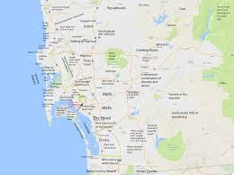 I 95 Map Judgmental Map Of San Diego Sandiego