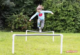 mollymoocrafts diy garden games obstacle course