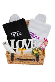 his hers gifts his n hers gift a gift basket from heaven