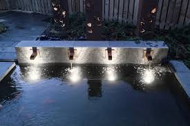 best submersible pond lights led underwater pool lights and fountain pond lights single array