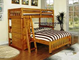 Contoh Gambar Ranjang Double Anak Modern Bunk Bed Contemporer Jati - Gautier bunk beds