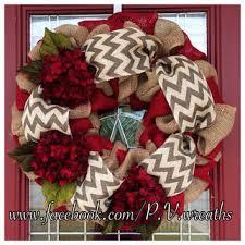 christmas burlap wreaths best decorating a christmas wreath burlap products on wanelo