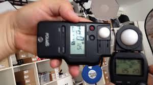 polaris incident light meter polaris vs micnova youtube