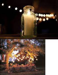 Mason Jar String Lights Mason Jar Outdoor String Lights Quanta Lighting